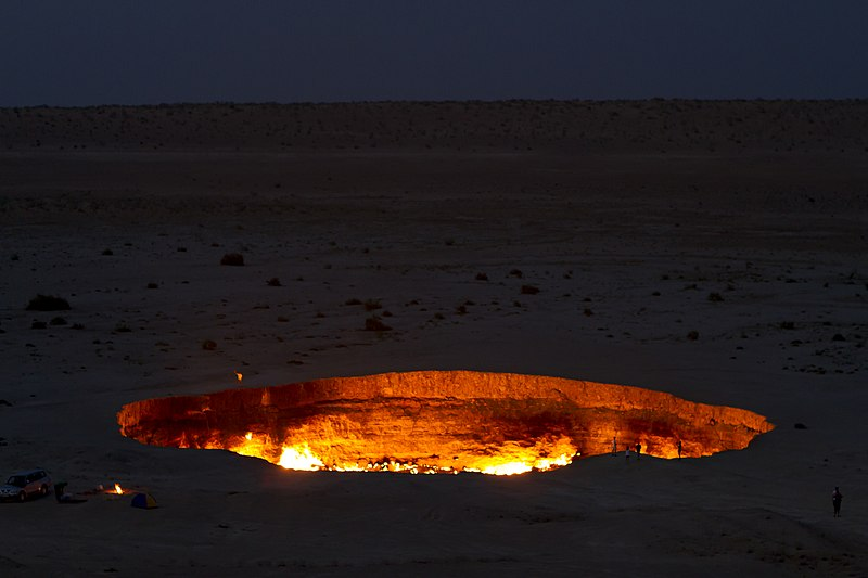 Secrets About Door Of Hell That Has Never Been Revealed For The Past 40 Years