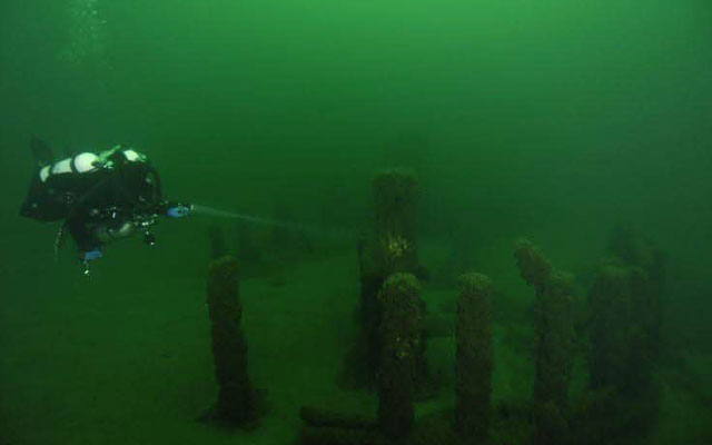 Mysterious Stonehenge Like Structure Found Below The Michigan Lake