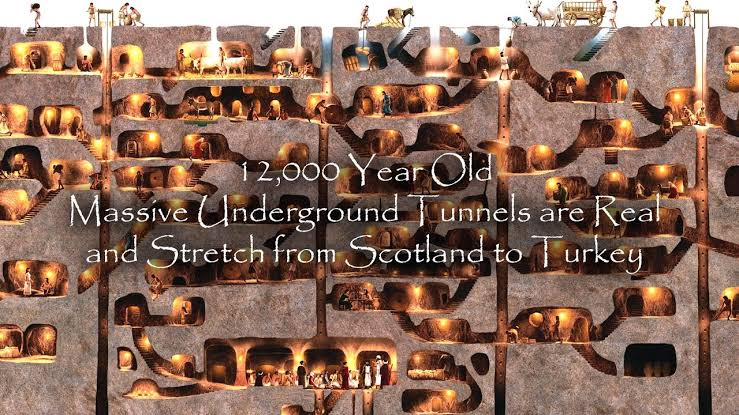 Unrevealing The Mystery of 12000 Year Old Massive Tunnel: Advanced Technology Used By Ancient Builders
